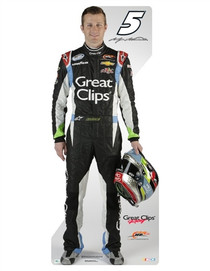 Team Image: Miniature Cardboard Cutout - Kasey Kahne 2013 #5 Great Clips