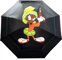 "Looney Tunes Double Canopy 62"" Golf Umbrella - Marvin the Martian"