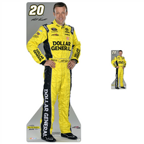 Team Image: Lifesize & Miniature Cardboard Cutout Combo - Matt Kenseth #20 Dollar General