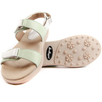 Sandbaggers: Women's Golf Sandals - Lola Mint
