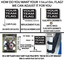 SSP Flags: NFL 11x15 inch Flag Variety - New Orleans Saints