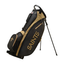 Wilson: NFL Carry Golf Bag - New Orleans Saints