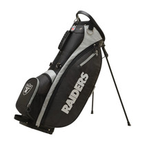 Wilson: NFL Carry Golf Bag - Las Vegas Raiders