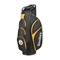Wilson: NFL Cart Golf Bag - Pittsburgh Steelers - Estimated Shipping is Mid March