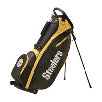 Wilson: NFL Carry Golf Bag - Pittsburgh Steelers