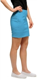 Loudmouth Golf: Womens Skort - Powder Blue - SALE