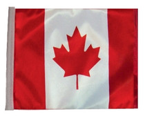 SSP Flags: 11x15 inch Golf Cart Replacement Flag - Canada