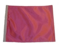 SSP Flags: 11x15 inch Golf Cart Replacement Flag - Pink