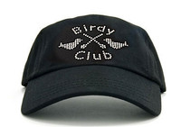 Dolly Mama Ladies Baseball Hat - Birdy Club on Black