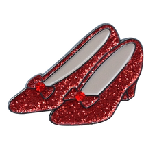 ReadyGolf: Glitter Ball Marker & Hat Clip - Ruby Slippers