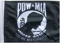 SSP Flags: 6x9 inch Golf Cart Replacement Flag - POW MIA