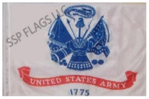SSP Flags: 6x9 inch Golf Cart Replacement Flag -  Army