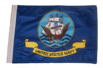 SSP Flags: 6x9 inch Golf Cart Replacement Flag - Navy