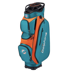 Wilson: NFL Cart Golf Bag - Miami Dolphins