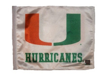SSP Flags: University 11x15 inch Flag Variety - Miami Hurricanes
