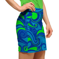 Loudmouth Golf: Womens Skort - Splash - Size 2