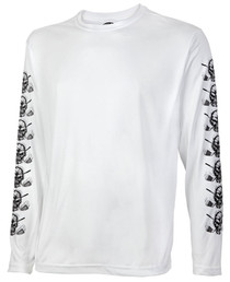 Tattoo Golf: Men's Long Sleeve Undershirt - White
