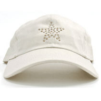 Dolly Mama Ladies Baseball Hat - Star on Stone