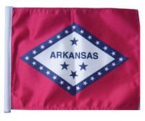 SSP Flags: 11x15 inch Golf Cart Replacement Flag - State of Arkansas