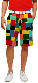 Loudmouth Golf: Men's Shorts - Technicolor Dream