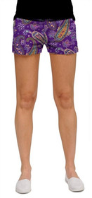 Loudmouth Golf: Women's Mini Shorts - Pazeltine*