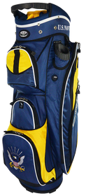 U.S. Navy Military Cart Bag by Hotz Golf  *Estimated Restock Date – Mid / Late  September 2021*