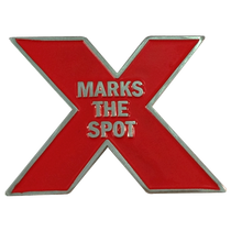 ReadyGolf: X Marks The Spot Ball Marker & Hat Clip