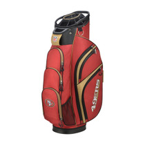 Wilson: NFL Cart Golf Bag - San Francisco 49ers