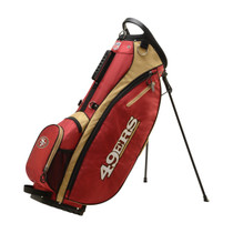 Wilson: NFL Carry Golf Bag - San Francisco 49ers