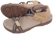 Sandbaggers: Women's Golf Sandals - Galia Tan