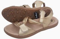 Sandbaggers: Women's Golf Sandals - Grace Gold