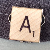 ReadyGolf - Scrabble Letter Monogram Ball Marker & Hat Clip