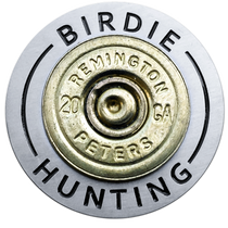 Birdie Hunting - 20 Gauge Shotgun Shell Ball Marker & Hat Clip by ReadyGOLF