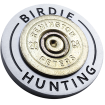 ReadyGolf: Birdie Hunting - 20 Gauge Shotgun Shell Ball Marker & Hat Clip