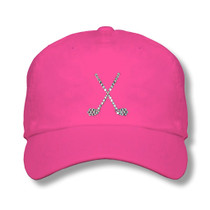 Titania Golf: Women's Cap - Crossed Clubs