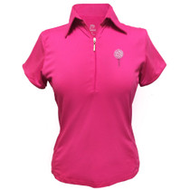 Titania Golf: Women's Golf Polo: Ball & Tee