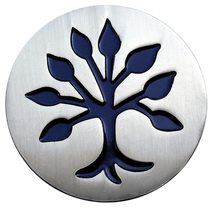 ReadyGolf: Lucky Charm Ball Marker & Hat Clip - Tree of Life