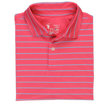 Fairway & Greene: Men's USA Patriot Stripe Tech Jersey Polo