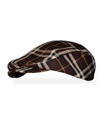 Golf Knickers: Men's 'Par 5' Plaid Golf Knickers & Cap - Adirondack