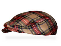 Golf Knickers: Men's 'Par 5' Plaid Golf Knickers & Cap - Augusta