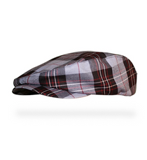 Golf Knickers: Men's 'Par 5' Plaid Golf Knickers & Cap - Boca