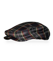 Golf Knickers: Men's 'Par 5' Plaid Golf Knickers & Cap - Lafayette
