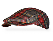 Golf Knickers: Men's 'Par 5'Plaid Golf Knickers & Cap - Lumberjack