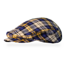 Golf Knickers: Men's 'Par 5' Plaid Golf Knickers & Cap - Malta