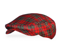 Golf Knickers: Men's Victorian 'Par 5' Limited Plaid Golf Knickers & Cap