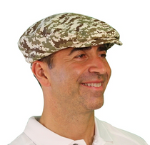 Golf Knickers: Men's Camo Series Golf Knickers & Cap - Desert Camo
