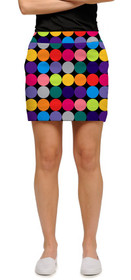 Loudmouth Golf: Women's Skort - Disco Balls Black