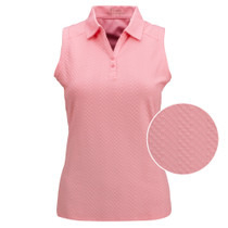 Nancy Lopez Golf: Women's Sleeveless Polo - Grace