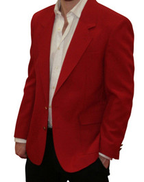 Trophy Club - Red Blazer Jacket
