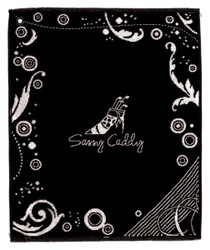Sassy Caddy: Golf Towel - Black